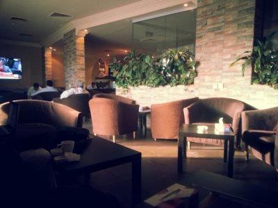 Black & White Cafe in Riyadh