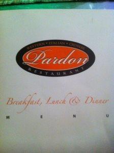 Pardon Restaurant in Riyadh