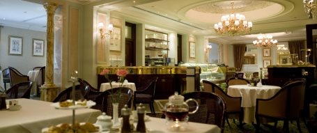 House tea - The Oberoi Hotel in Madinah