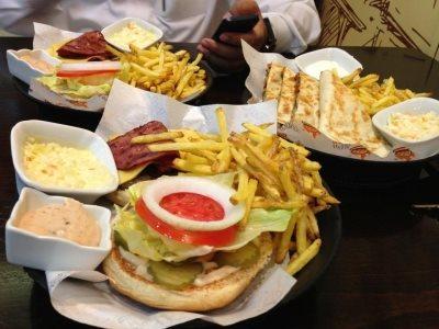 Raf Burger in Riyadh